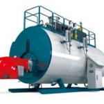 Safety  High Efficiency Gas Steam Boiler , Natural Gas Steam Furnace 1200000 Kcal
