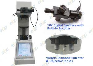 China Manual Turret Vickers Hardness Testing Machine Adjustable Brightness Light Source on sale