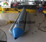 Exciting Water Games Inflatable Fly Fishing Boat / Inflatable Banana Boat For 10 Persons
