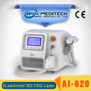 China Q-Switched nd:yag laser Tattoo removal beauty equipment on sale