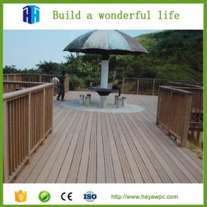 China HEYA fireproof wpc building decking sheet composite tiles manufacturer on sale