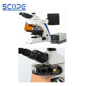 China Infinity Optical Trinocular Biological Microscope , Trinocular Compound Microscope on sale