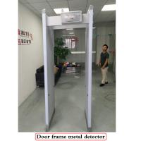 Six Zones Walk Through Metal Detector 2200 x 860 x 440mm Vertical Dimension