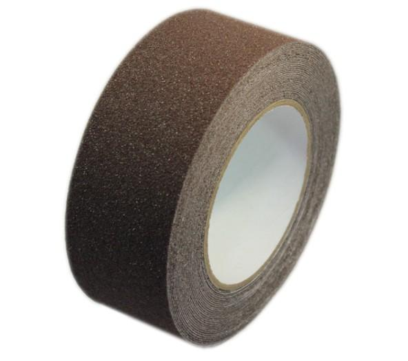 Black Color PET Non Slip Adhesive Tape With PVC Film, 60# Sand Grit For  Bathroom, Stairs Images