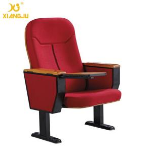 China Auditorium Seat Powder Coating Feet PU Cold Foaming Church Hall Chairs on sale