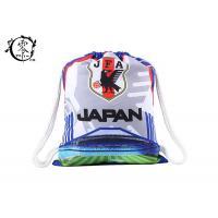 Japan Football National Backpack String Bag , Printed Athletic Pull String Bag