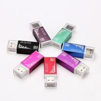 China All in one USB 2.0 Multi Memory Card Reader for Micro SD/TF M2 MMC SDHC MS Memory Stick on sale
