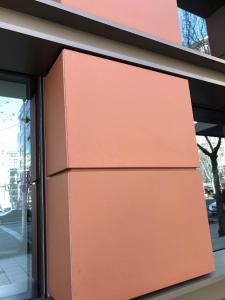 Durable Exterior Wall Cladding Decorative Terracotta Facade Wall