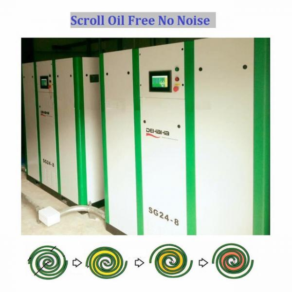 good Scroll type air compressors for food industry for sale