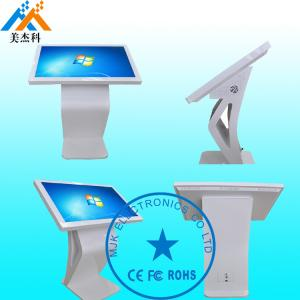 China 32 Inch Rustproof Touch Screen Digital Signage Kiosk Windows OS For Banks on sale
