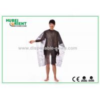 China OEM Nonwoven Disposable cape for Hair Dressing 20gsm to 50gsm on sale