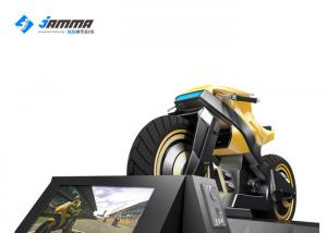 China Optional Color VR Motorcycle Simulator Immersive Game Support Multiplayer on sale
