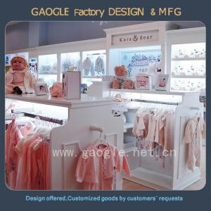 China hot sale modern style clothes store fixture for child's clothing display on sale