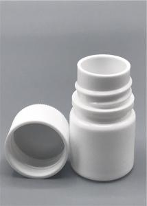 China 10ml Plastic HDPE Pill Bottles White Color Injection Blow Molding Machine Made on sale