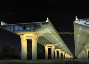 China Long Life High Strength Structural Steel Bridge For Highway / Ramp on sale