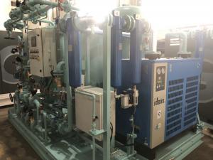 China Full Automatic Marine Nitrogen Generator / Adjustable PSA Nitrogen Gas Generator on sale