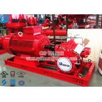NFPA20 Standard UL listed Electric Motor Driven Fire Pump Set For Fire Fighting Use