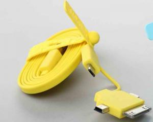 China High Speed Micro SAMSUNG USB Charger Cable For Galaxy S2 / S3 With Apple 30 Pin on sale