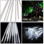 China 5W 30CM 8 Tubes 144LEDs Rainproof RGB LED String Lights Indoor Christmas decoration with US EU plug wholesale