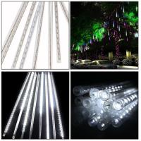 China 5W 30CM 8 Tubes 144LEDs Rainproof RGB LED String Lights Indoor Christmas decoration on sale