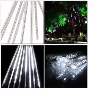 China 5W 30CM 8 Tubes 144LEDs Rainproof RGB LED String Lights Indoor Christmas decoration on sale