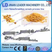 China Corn flakes breakfast cereal processing line Corn flakes processing line Breakfast cereal on sale