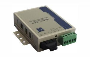 China RS-485/422 Serial to Fiber Converter 5VDC Power External With 15KV ESD Protection on sale