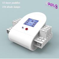 China Waist Fat Removal Lipo Laser Slimming Machine 650nm / 980nm With 336 Diodes on sale
