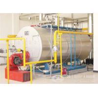 3 ton  gas, oil, dual fuel fired steam boiler