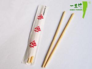 China Single Chopsticks/Round Bamboo Chopstick (YK203) on sale