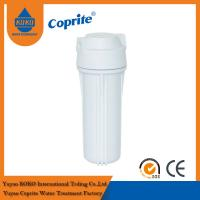 Double O Ring white cartridge filter housing For Home Reverse Osmosis System