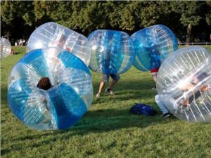 China Waterproof Fabric Inflatable Bubble Ball Soccer / Inflatable Bubble Football on sale