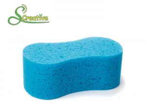 China Eco Friendly Cellulose Cleansing Sponges For Car / Household Care Non Scratch on sale