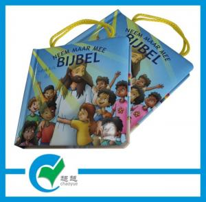 China OEM / ODM Customized Size 157g Glossy Paper Childrens Book Printing on sale