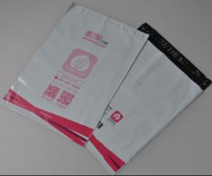 China Poly Mailer Grey Mailing Bags / Waterproof Plastic Envelopes For Packaging , Courier on sale