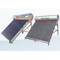 China Safety Vacuum Tube Solar Water Heater , Solar Powered Tankless Water Heater on sale