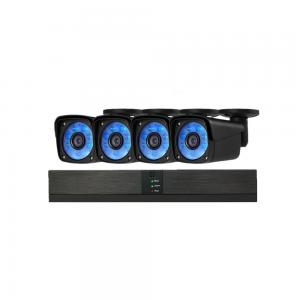 China New 4 Channel HD NVR Kit 1080P DC12V 1A Power Supply Built In POE Switch on sale