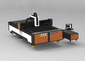 China Advertising Metal Fiber Laser Cutting Machine Small Size 1070nm Wavelength on sale