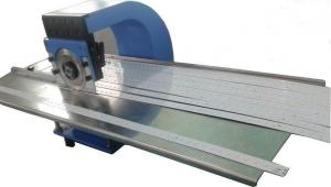 China Two Circular Blades PCB Depaneling Machine For FR4 CEM PCB Board on sale
