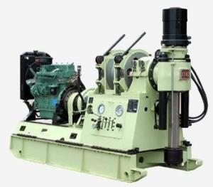 China Vertical Spindle Type Core Drill Rig For Geological Exploration / Water Well Drilling on sale