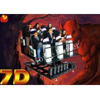 High Tech Virtual Reality 9D Action Cinemas For 6 DOF Servo Dynamic Platform