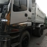 japan Used 336HP ISUZU 10 Wheels Dump Truck Tipper 6X4 with Good Condition for Africa