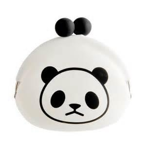 China Panda Shape Silicone Purse For Ladies / OEM Welcoem on sale