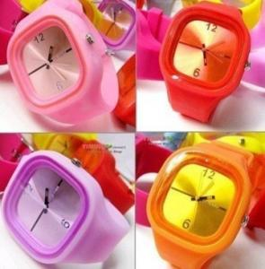 China Silicone jelly watches for london olympic game on sale