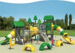 Durable LLDPE made anti-UV, anti-fade bigger structure out door playground