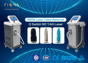China Picosecond Laser Q Switched ND YAG Laser Tattoo  Machine Fractional With Cooling System on sale