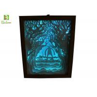Visual Merchandising Retail Display Props  , Paper Cut Lamp Box Theme Facing Giant