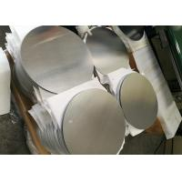 China Mill Finish 3000 Series Aluminum Round Plate , Strongest Commercial Grade Aluminum Disks on sale