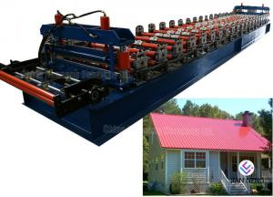 China 4 KW Hydraulic Cutter Glazed Roll Forming Machine / Tile Forming Machine on sale