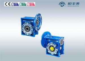 China Motor Worm Flange MountedGearbox , Worm Gear Speed Reducer Low Noise on sale